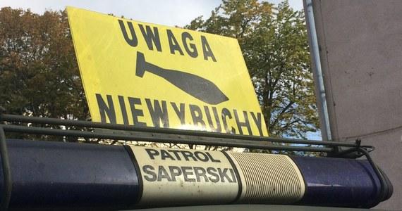 Niewybuch z czasów II wojny światowej usuwają saperzy w Szczecinie. Na czas podnoszenia ładunku policja zamknie dla ruchu okolice skrzyżowania przy jeziorze Głębokim.