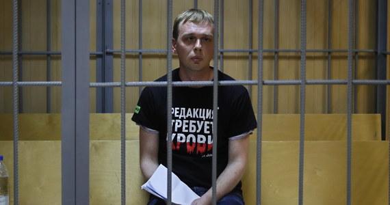 Rosyjski dziennikarz śledczy Iwan Gołunow wyszedł na wolność. Przed budynkiem głównym zarządu śledczego policji w Moskwie podziękował wszystkim za wsparcie i powiedział, że musi teraz dojść do siebie.