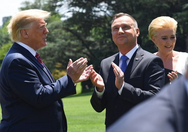 Trump po rozmowach z Dudą: Polska zadeklarowała gotowość zakupu 32 myśliwców F-35