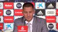 Eden Hazard na konferencji prasowej po oficjalnej prezentacji w Realu Madryt. Pytał Modricia o koszulkę z numerem 10. Wideo