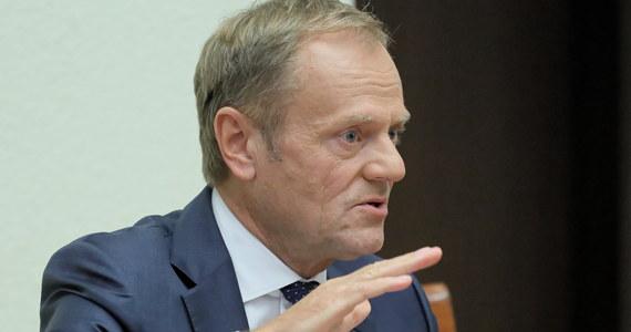 To, że dochodzi do wyłudzeń podatku VAT, było wiedzą powszechną na tyle, że nie zastanawiałem się nawet, skąd o tym wiem. Raczej oczekiwałem od ministra finansów, że ukróci ten proceder - powiedział przed komisją śledczą ds. VAT b. premier, szef Rady Europejskiej Donald Tusk.