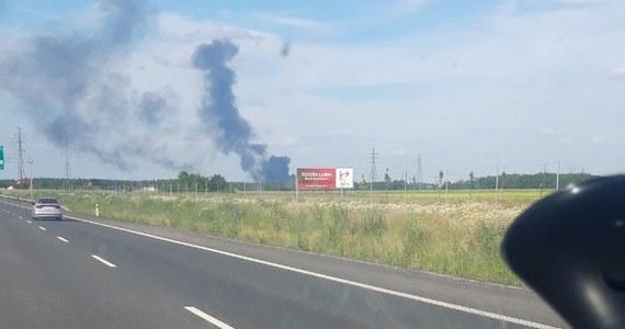 Opanowano pożar wysypiska śmieci w Lubinie na Dolnym Śląsku. W akcji gaśniczej uczestniczy 10 zastępów straży pożarnej.