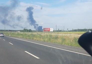 Dolny Śląsk: Pożar wysypiska śmieci w Lubinie