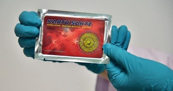 """""""Magiczne karty"""" sprzedawane w Tajlandii, które miały leczyć wszystkie choroby, okazały się niebezpiecznie radioaktywne - informuje """"Bangkok Post""""."""