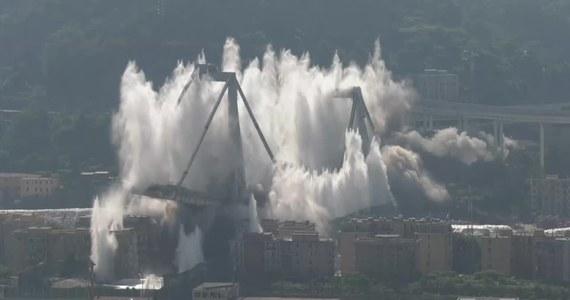 Dziś w Genui na północy Włoch zostały wysadzone w powietrze - przy pomocy dynamitu - dwa filary mostu, który zawalił się 14 sierpnia 2018 r. Od czwartku trwała ewakuacja około 3400 osób z domów stojących w pobliżu pozostałości mostu Morandiego.