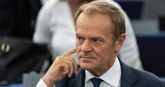O współpracę i zaufanie między instytucjami zaapelował szef Rady Europejskiej Donald Tusk w Strasburgu w Parlamencie Europejskim w swoim pierwszym przemówieniu po nominowaniu na szczycie UE Ursuli von der Leyen na szefową KE.