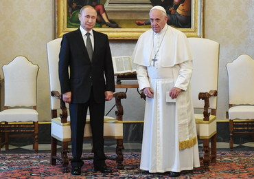 Władimir Putin spóźnił się godzinę na audiencję u papieża