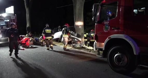 19-letnia kobieta i 21-letni mężczyzna zginęli w wypadku, do którego doszło w nocy w miejscowości Grzędy na Dolnym Śląsku. Samochód, którym jechały w sumie trzy osoby, zjechał z trasy i z impetem uderzył w drzewo.