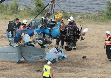 Katastrofa podczas pokazów lotniczych w Płocku. Pilot był przytomny