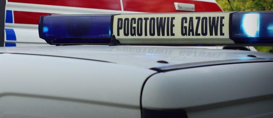 Rozszczelnienie gazociągu na ul. Piłsudskiego w Nysie. Konieczna była ewakuacja.