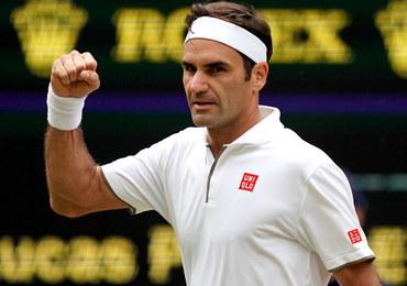 Niezwykły rekord Federera. Wygrał 350 meczów w Wielkim Szlemie