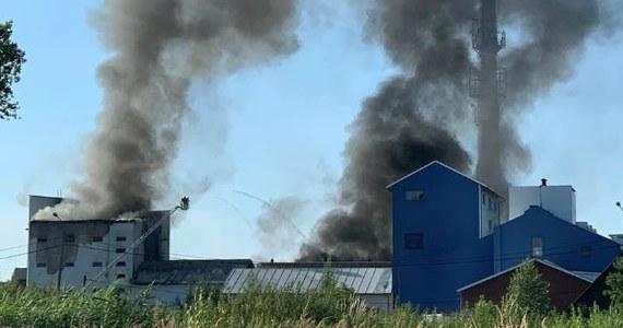 """Czterech mężczyzn, podejrzanych o podpalenie w ubiegłym tygodniu odpadów w hali na terenie dawnej cukrowni w Chybiu, zatrzymała cieszyńska policja. Jak poinformował jej rzecznik asp. Krzysztof Pawlik: """"54-letni mężczyzna i jego trzej pracownicy odpowiedzą za spowodowanie katastrofy zagrażającej życiu i zdrowiu oraz mieniu w wielkich rozmiarach""""."""