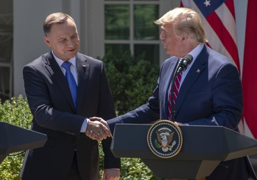 Nieoficjalnie: Donald Trump może przemówić w Warszawie 31 sierpnia