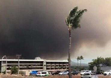 Hawaje: Potężny pożary na wyspie Maui