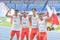 Uniwersjada. Brązowy medal polskiej sztafety 4x400 m