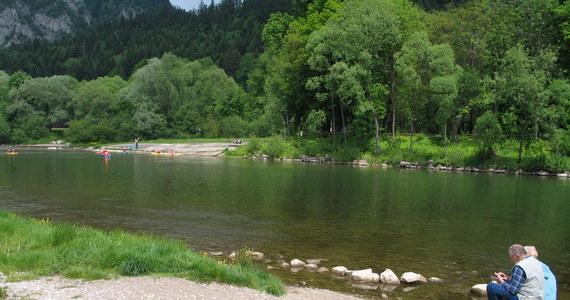 45-letni turysta utonął w Dunajcu. Jego ciało wydobyto w rejonie Szczawnicy.