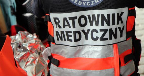 Dwie osoby zostały ranne w wypadku, do którego doszło na remontowanym wiadukcie przy ul. Krakowskiej w Nowym Targu. Sprawca był pijany.