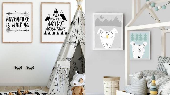 e3b4f704 Stylowe dekoracje do pokoju dziecka - styl.pl