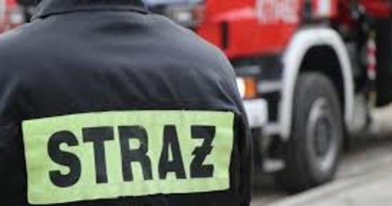 Pożar kamienicy przy ulicy Hajduckiej w Chorzowie. 18 osób - w tym 6 dzieci - ewakuowano w nocy z budynku.