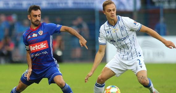 Piłkarze Piasta Gliwice zremisowali w sobotnim spotkaniu ekstraklasy na własnym stadionie z Lechem Poznań 1:1.