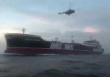 Iran zapewnia: Załoga brytyjskiego tankowca jest bezpieczna