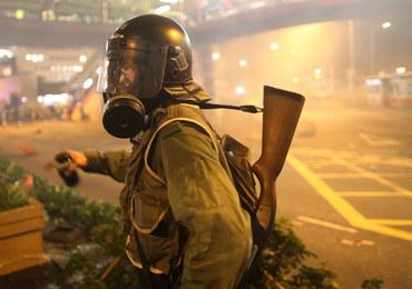 Masowe protesty w Hongkongu. Policja użyła gazu łzawiącego