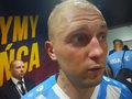 Deniss Rakels po meczu z Piastem Gliwice. Wideo