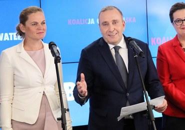 """Schetyna ogłosił """"jedynki"""" Koalicji Obywatelskiej na wybory parlamentarne"""