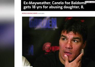 18 lat za molestowanie córki dla byłego pięściarza-Carlosa Baldomira
