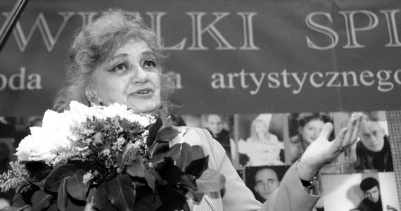 """W wieku 96 lat zmarła aktorka Ludmiła Łączyńska. Od 1957 r. nieprzerwanie wcielała się w rolę Jadwigi Matysiakowej w powieści radiowej """"Matysiakowie""""."""