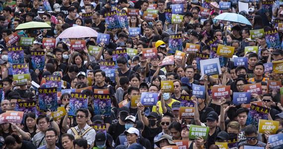 Policja w Hongkongu użyła gazu łzawiącego do rozproszenia kilkuset osób protestujących na głównej wyspie miasta przeciwko projektowi nowelizacji prawa ekstradycyjnego. Dzień wcześniej również doszło do starć demonstrantów z policją.