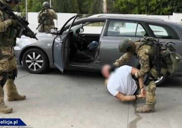 Uderzenie w narkobiznes: 10 zatrzymanych, wśród nich szef grupy. Padły strzały