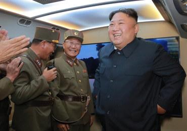 Kim Dzong Un pogroził palcem. Testy rakiet mają być ostrzeżeniem dla USA i Korei Południowej