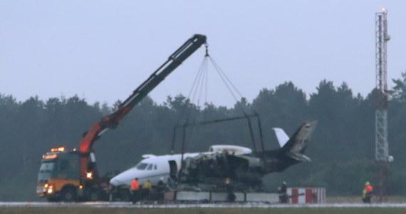 We wtorek na lotnisku w Danii rozbił się prywatny samolot, którym podróżowała część ekipy piosenkarki Pink. Po lądowaniu maszyna zapaliła się. Wszyscy zdążyli się ewakuować z pokładu.