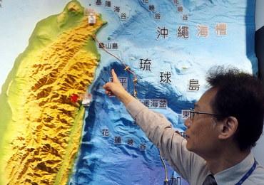 Mocne trzęsienie ziemi na Tajwanie. W Tajpej zadrżały budynki