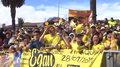 Kolarstwo. Egan Bernal przywitany przez Kolumbijczyków. Wideo