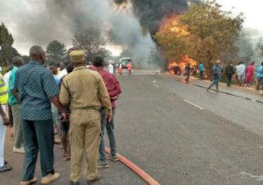 Wybuch cysterny z ropą w Tanzanii. Nie żyje co najmniej 57 osób