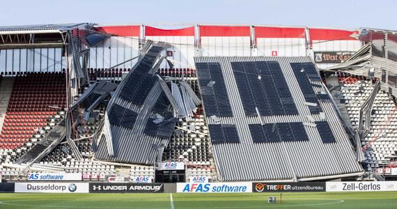 Było o krok od tragedii. Na stadionie AZ Alkmaar, drużyny występującej w holenderskiej Eredivisie z powodu silnego wiatru zawalił się dach. Na szczęście, nikogo nie było w tym czasie na obiekcie.