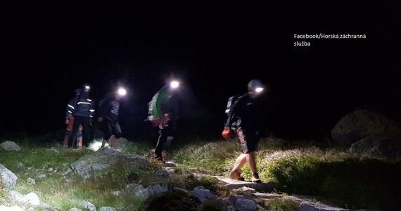 Trzech polskich taterników bezpiecznie sprowadzili, w nocy z poniedziałku na wtorek, słowaccy ratownicy górscy z Gerlacha - najwyższego szczytu Tatr. Akcja zakończyła się o 2 w nocy, tuż przed gwałtowną burzą.