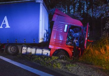 Opolskie: Zderzenie trzech ciężarówek, są ranni