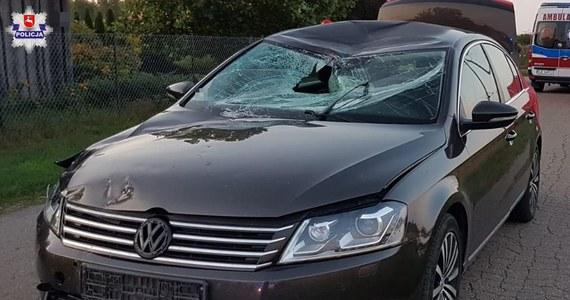 Policja i prokuratura wyjaśniają okoliczności tragicznego wypadku w Sewerynówce na Lubelszczyźnie. 14-letni rowerzysta został tam śmiertelnie potrącony przez auto osobowe.