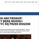 """abp Ludwig Schick wezwał do """"przeciwstawienia się arogancji polityków i narodów"""""""