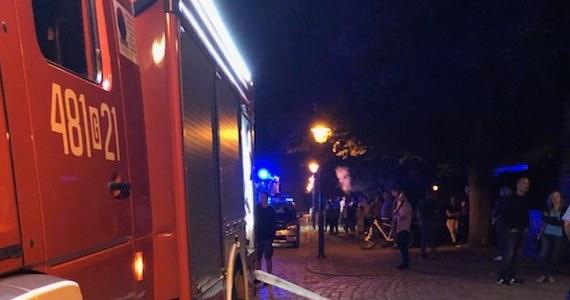 Pożar w kaplicy na zamku w Malborku. Informację dostaliśmy od naszego słuchacza na Gorącą Linię RMF FM.