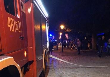 Malbork: Pożar w kaplicy na zamku