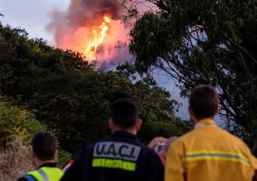 Pożary na wyspie Gran Canaria: Ponad 2 tys. osób ewakuowanych