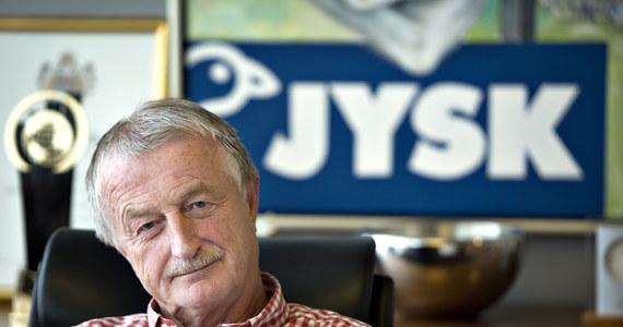 Lars Larsen, założyciel duńskiej firmy Jysk, zmarł w wieku 71 lat. Najbogatszy Duńczyk przegrał walkę z rakiem.