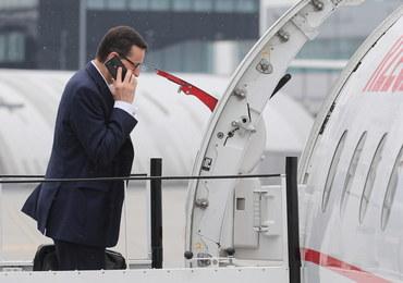 """""""Newsweek"""" o lotach premiera nad morze. Morawiecki: Wiązały się z wykonywaniem funkcji"""