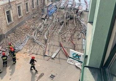 Wypadek podczas remontu muzeum w Wodzisławiu Śląskim. Runęło rusztowanie