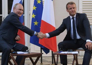 Macron: Wierzymy w Europę od Lizbony do Władywostoku