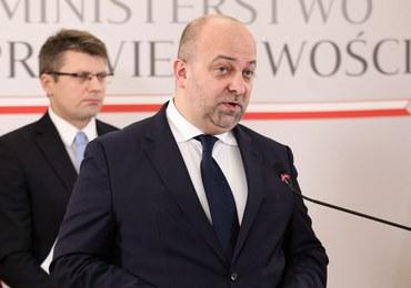 Wiceminister sprawiedliwości Łukasz Piebiak podał się do dymisji
